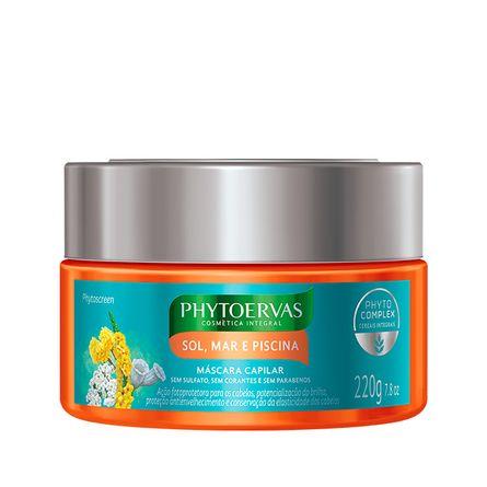 mascara-capilar-phytoervas-sol-mar-piscina-phytoscreen-220g