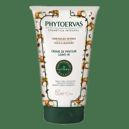 creme-para-pentear-hidratacao-intensa-coco-e-algodao-phytoervas-150ml